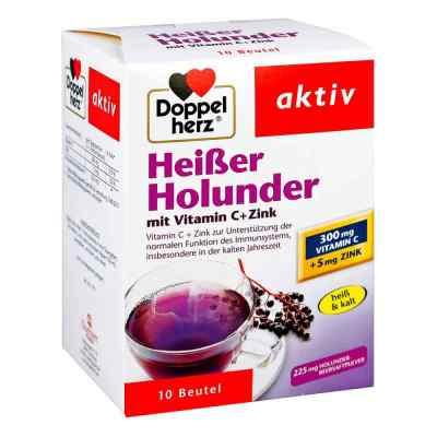 Doppelherz Heisser Holunder mit Vitamin C +Zink Granulat  bei deutscheinternetapotheke.de bestellen