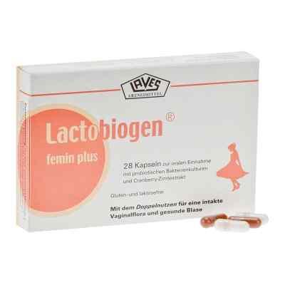 Lactobiogen femin plus Kapseln  bei deutscheinternetapotheke.de bestellen