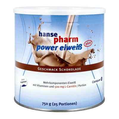 Hansepharm Power Eiweiss plus Schoko Pulver  bei deutscheinternetapotheke.de bestellen