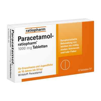 Paracetamol-ratiopharm 1000mg  bei deutscheinternetapotheke.de bestellen
