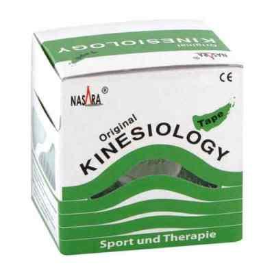 Nasara Kinesio Tape 5 cmx5 m grün inkl.Spenderbox  bei deutscheinternetapotheke.de bestellen