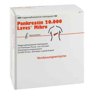 Pankreatin 20000 Laves Mikro magensaftresistent Kapseln  bei deutscheinternetapotheke.de bestellen