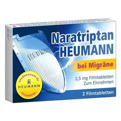 Naratriptan Heumann bei Migräne 2,5mg  bei deutscheinternetapotheke.de bestellen
