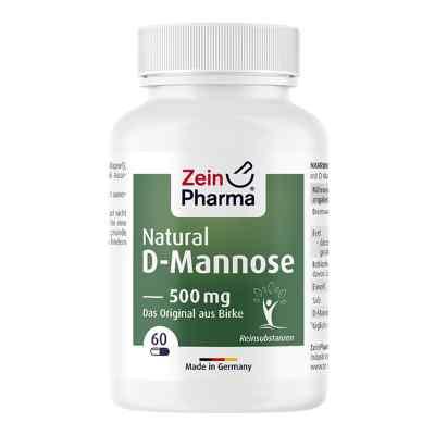 Natural D-mannose 500 mg Kapseln  bei deutscheinternetapotheke.de bestellen
