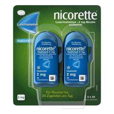 Nicorette freshmint 2 mg Lutschtabletten gepresst  bei deutscheinternetapotheke.de bestellen