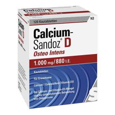 Calcium-Sandoz D Osteo intens 1000mg/880 internationale Einheite  bei deutscheinternetapotheke.de bestellen