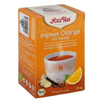Yogi Tea Ingwer Orange+vanille Bio Filterbeutel  bei deutscheinternetapotheke.de bestellen