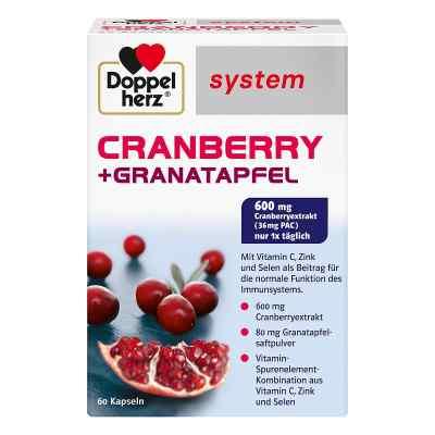 Doppelherz Cranberry + Granatapfel system Kapseln  bei deutscheinternetapotheke.de bestellen