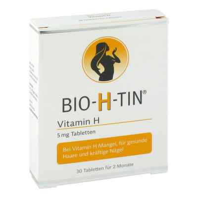 Bio-h-tin Vitamin H 5 mg für 2 Monate Tabletten  bei deutscheinternetapotheke.de bestellen