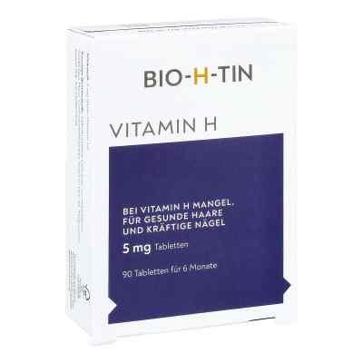 Bio-h-tin Vitamin H 5 mg für 6 Monate Tabletten  bei deutscheinternetapotheke.de bestellen