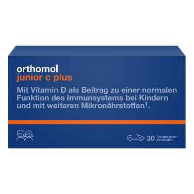 Orthomol Junior C plus Kautablette (n) mandarine/orange  bei deutscheinternetapotheke.de bestellen