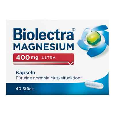 Biolectra Magnesium 400 mg ultra Kapseln  bei deutscheinternetapotheke.de bestellen