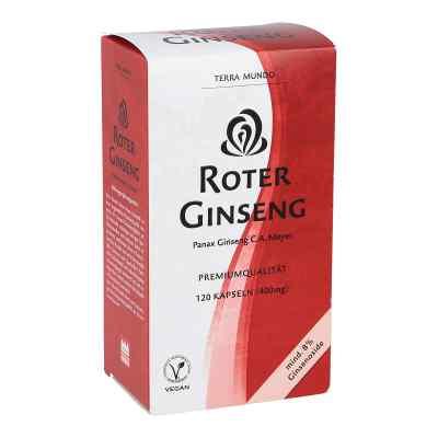 Roter Ginseng 400 mg 8% von Terra Mundo  bei deutscheinternetapotheke.de bestellen