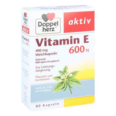 Doppelherz Vitamin E 600 N Weichkapseln  bei deutscheinternetapotheke.de bestellen