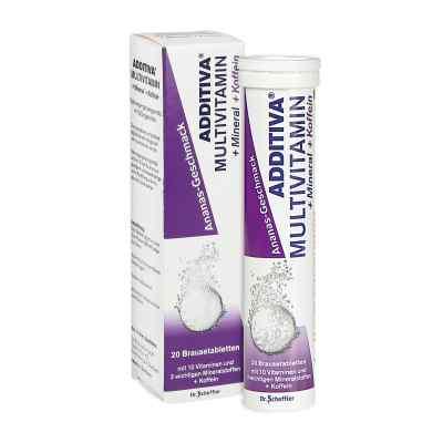 Additiva Multivit.+mineral+coff.ananas R Br.-tabl.  bei deutscheinternetapotheke.de bestellen