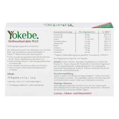Yokebe Plus Stoffwechsel aktiv Kapseln  bei deutscheinternetapotheke.de bestellen