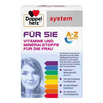 Doppelherz Für Sie system Tabletten  bei deutscheinternetapotheke.de bestellen