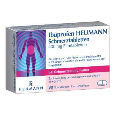 Ibuprofen Heumann Schmerztabletten 400mg  bei deutscheinternetapotheke.de bestellen