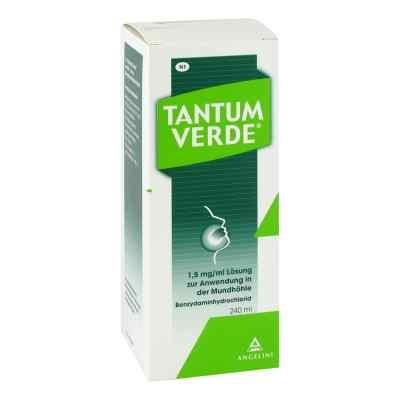 Tantum Verde 1,5 mg/ml Lösung zur, zum Anwendung in der Mundhöhl  bei deutscheinternetapotheke.de bestellen