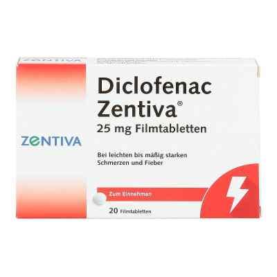 Diclofenac Zentiva 25mg  bei deutscheinternetapotheke.de bestellen