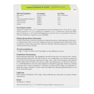 Orthoflor Immun Kapseln  bei deutscheinternetapotheke.de bestellen