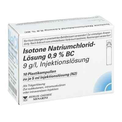Isotone Nacl Lösung 0.9% Bc Plastik amp.inj.-lsg.  bei deutscheinternetapotheke.de bestellen