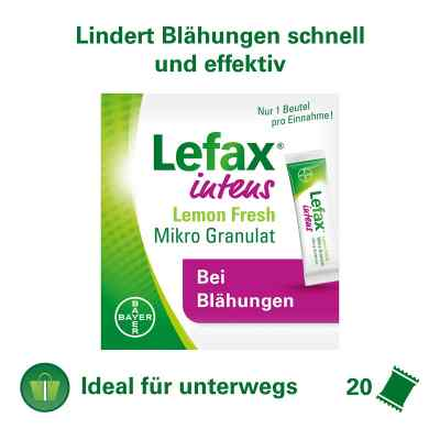 Lefax intens Lemon Fresh Mikro Granul.250 mg Sim.  bei deutscheinternetapotheke.de bestellen