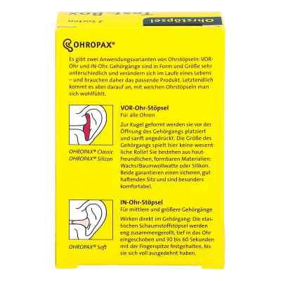 Ohropax Test-box 3 Sorten Ohrstöpsel  bei deutscheinternetapotheke.de bestellen