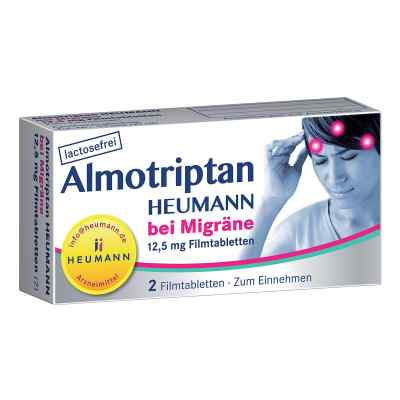 Almotriptan Heumann bei Migräne 12,5mg  bei deutscheinternetapotheke.de bestellen