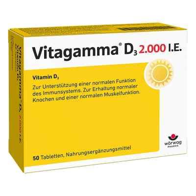 Vitagamma D3 2.000 I.e. Vitamin D3 Nem Tabletten  bei deutscheinternetapotheke.de bestellen