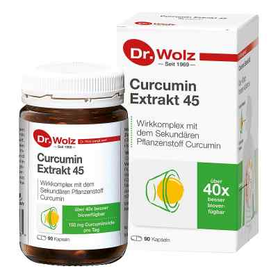 Curcumin Extrakt 45 Doktor wolz Kapseln  bei deutscheinternetapotheke.de bestellen