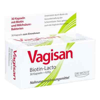 Vagisan Biotin-lacto Kapseln  bei deutscheinternetapotheke.de bestellen