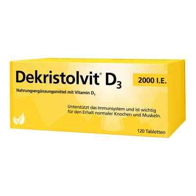 Dekristolvit D3 2.000 I.e. Tabletten  bei deutscheinternetapotheke.de bestellen