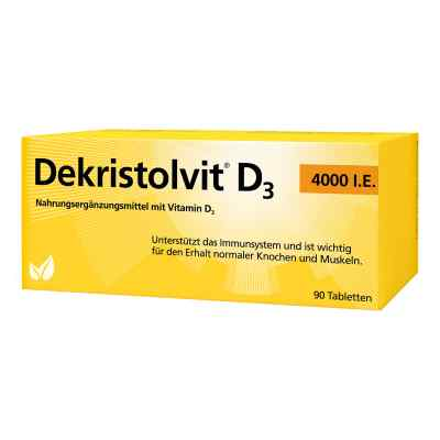 Dekristolvit D3 4.000 I.e. Tabletten  bei deutscheinternetapotheke.de bestellen
