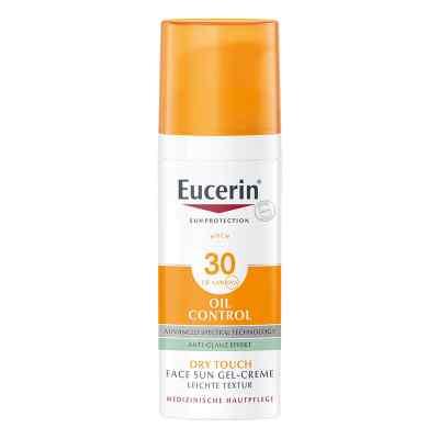 Eucerin Sun Gel-creme Oil Contr.anti-gl.eff.lsf 30  bei deutscheinternetapotheke.de bestellen