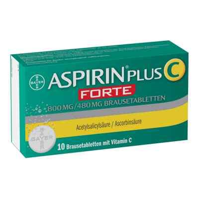 Aspirin plus C Forte 800mg/480mg  bei deutscheinternetapotheke.de bestellen