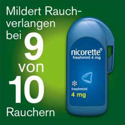 Nicorette freshmint 4mg gepresst  bei deutscheinternetapotheke.de bestellen