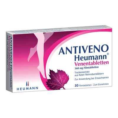 ANTIVENO Heumann Venentabletten  bei deutscheinternetapotheke.de bestellen