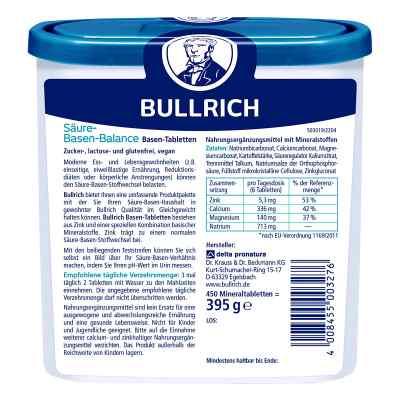 Bullrich Säure Basen Balance Tabletten  bei deutscheinternetapotheke.de bestellen