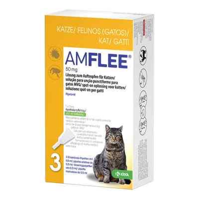 Amflee 50 mg Lösung zum Auftropfen für Katzen  bei deutscheinternetapotheke.de bestellen