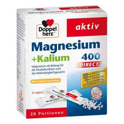 Doppelherz Magnesium+kalium Direct Portionsbeutel  bei deutscheinternetapotheke.de bestellen