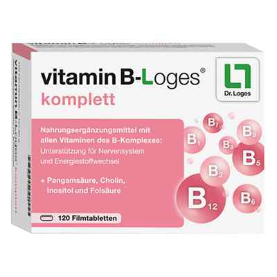 Vitamin B-loges komplett Filmtabletten  bei deutscheinternetapotheke.de bestellen