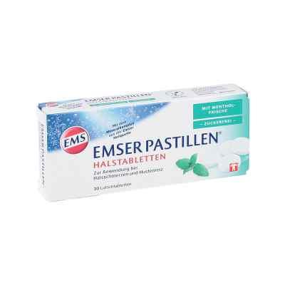 Emser Pastillen mit Mentholfrische zuckerfrei  bei deutscheinternetapotheke.de bestellen