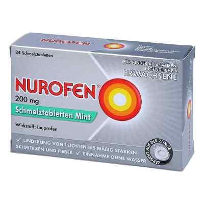 Nurofen 200 mg Schmelztabletten Mint  bei deutscheinternetapotheke.de bestellen