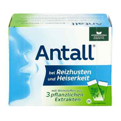 Antall bei Reizhusten und Heiserkeit Liquidsticks  bei deutscheinternetapotheke.de bestellen