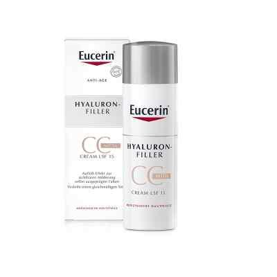 Eucerin Anti-Age Hyaluron-Filler CC Cream mittel  bei deutscheinternetapotheke.de bestellen