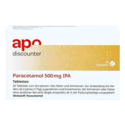 Paracetamol 500mg von apo-discounter bei Fieber und Schmerzen  bei deutscheinternetapotheke.de bestellen