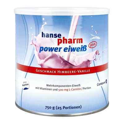 Hansepharm Power Eiweiss plus Himbeere-vanille Plv  bei deutscheinternetapotheke.de bestellen