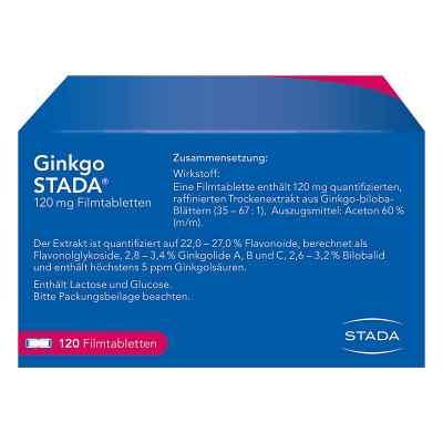 Ginkgo STADA 120mg  bei deutscheinternetapotheke.de bestellen