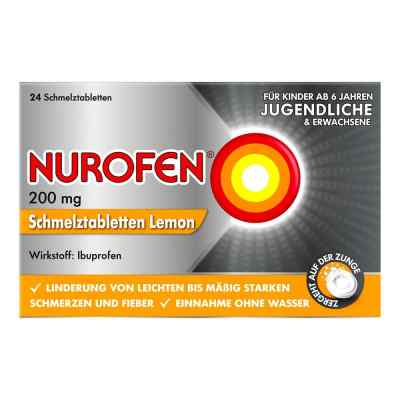 NUROFEN Schmelztabletten Lemon bei Kopfschmerzen  bei deutscheinternetapotheke.de bestellen